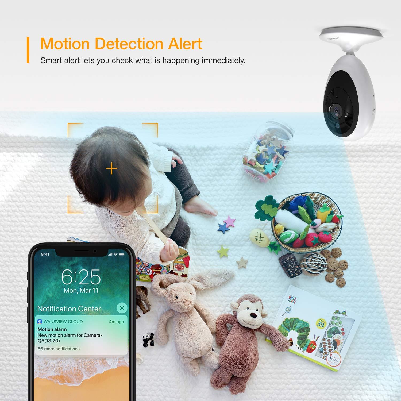 Amazon.com: Monitor de bebé, WiFi inalámbrico sistema de ...