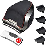 FOXSONIC Hair Clippers Shortcut Pro Self-Haircut Kit Balding Clipper +1 Extra Replacement Blade Beard Trimmer Head Shaver for
