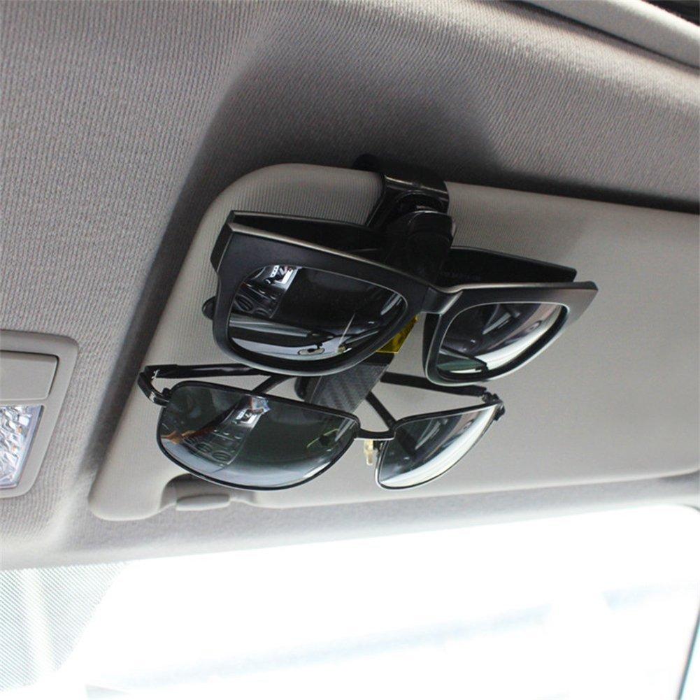 Brillenhalter für Auto Sonnenblende, Guyin Sonnenbrillen