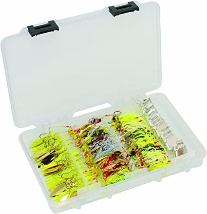 Fishing Tackle Box Lure Bait Storage Hanging Spinner Bait Equipment Boxes Clear