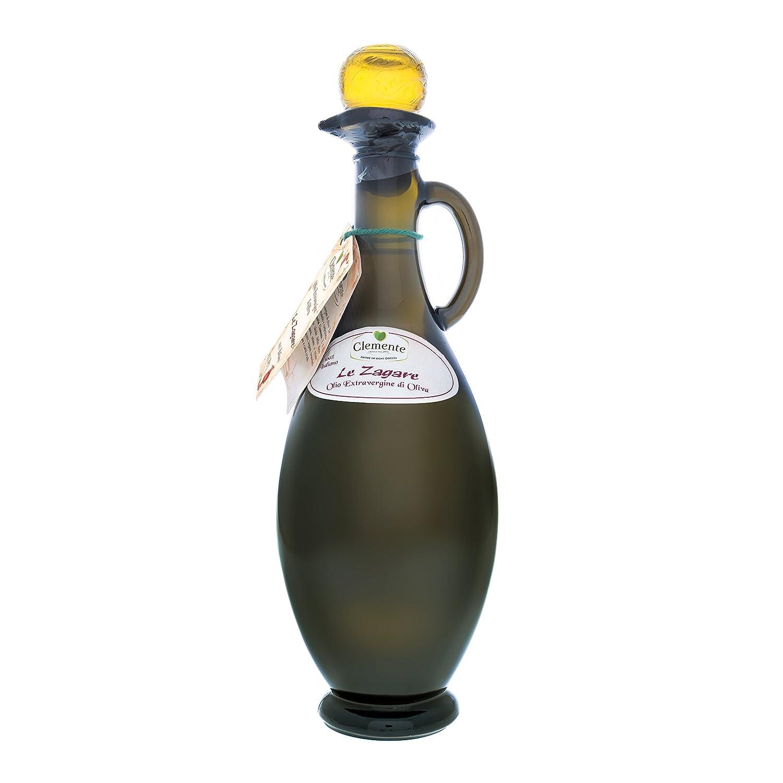 Aceite Clemente - 1 Ánfora de Aceite de Oliva Virgen Extra 100% Italiano, Le Zagare, 750 ml: Amazon.es: Alimentación y bebidas