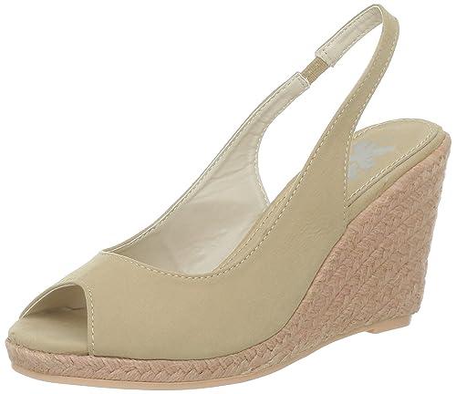 Xti 25923, Alpargatas para Mujer, Beige (Arena), 36 EU: Amazon.es: Zapatos y complementos