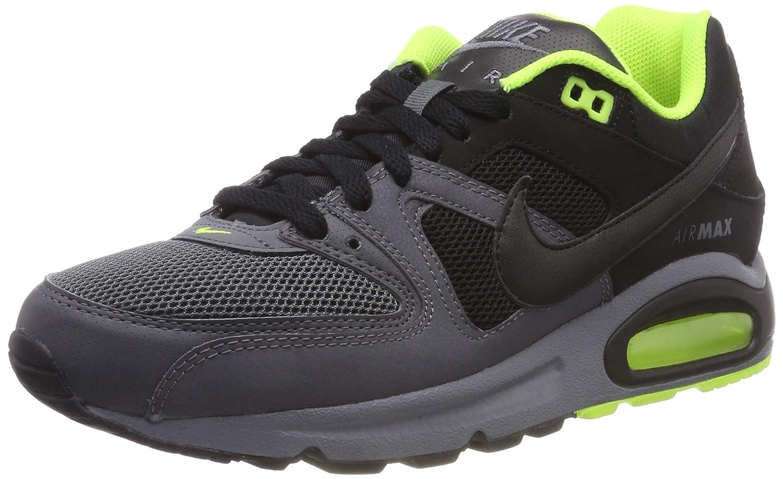 MultiCouleure (Cool gris noir-dark gris-volt 038) Nike Air Max Command, Chaussures de Gymnastique Homme