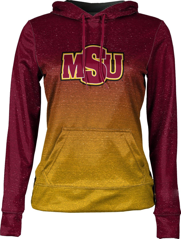 School Spirit Sweatshirt ProSphere Midwestern State University Girls Pullover Hoodie Ombre
