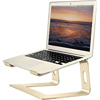 """Soundance Aluminum Laptop Stand for Desk Compatible with Mac MacBook Pro/Air Apple 12"""" 13"""" Notebook, Portable Holder…"""