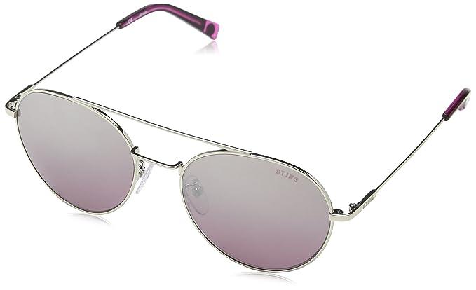 Sting Ss4899 gafas de sol, Morado (SHINY PALLADIUM), Talla ...