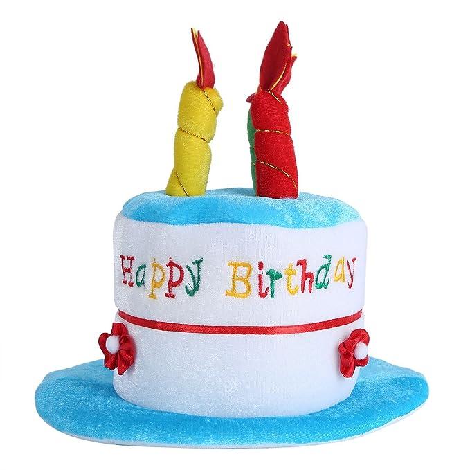 Gorros de Fiesta YIZYIF Unisex Niño Sombrero Pastel para disfraz de Adulto Fiesta de Cumpleaños de