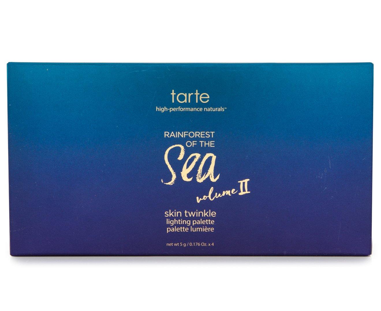 Tarte Rainforest Of The Sea Skin Twinkle Lighting Highlighting Palette Volume Ii