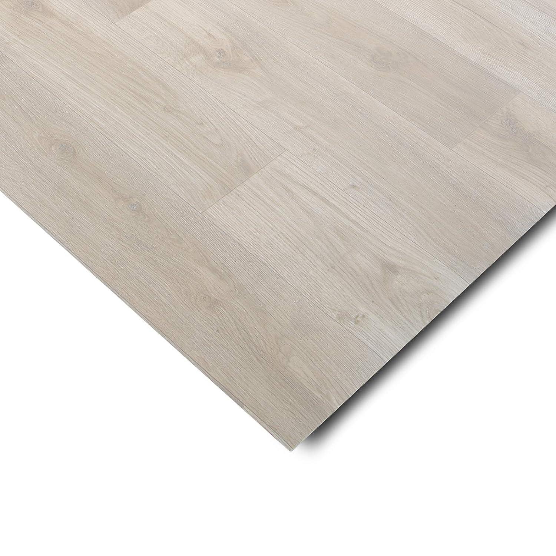 edle Holzoptik gesch/äumt Meterware extra abriebfester PVC Bodenbelag 100x300 cm - Buche hell casa pura/® CV Bodenbelag Beech Plank Oberfl/äche strukturiert
