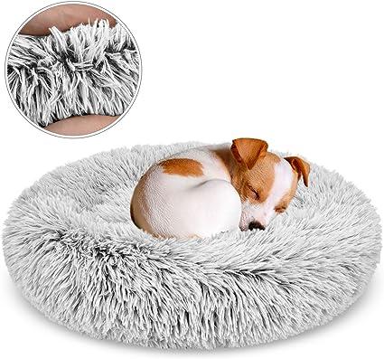 Cachorro Perro Mascota Gato Slipper anidación Cama Cueva Cojín acogedor Piel Sintética Base Antideslizante