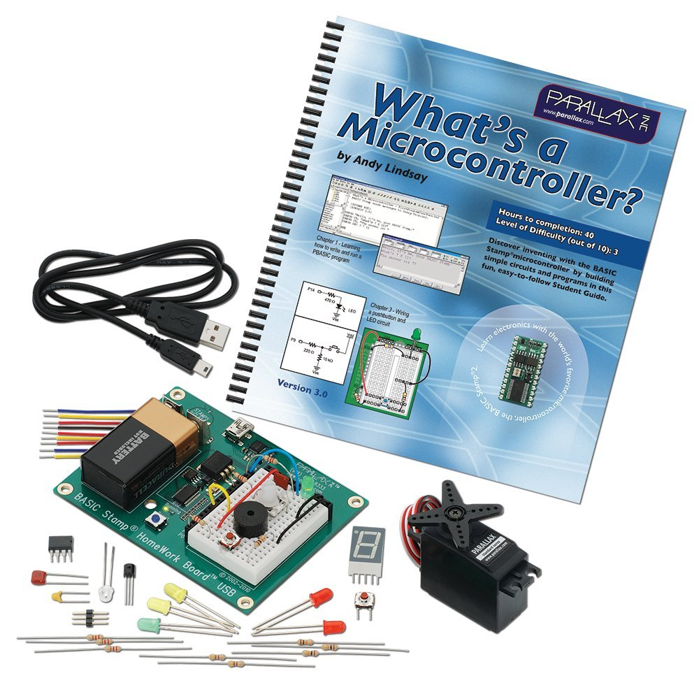 Whats A Microcontroller Basic Stamp Kit Toys Games From Snap Circuits Micro Courtesy Elenco Electronics Inc