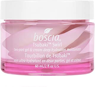 product image for boscia Tsubaki Swirl - Vegan, Cruelty-Free, Natural and Clean Skincare | Natural Camellia Oil Cream and Gel Face Moisturizer for Combo to Dry Skin, 2 fl oz