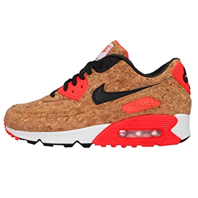 new product 368d4 d0829 NIKE Women's W Air Max 90 Anniversary Cork-bronze/Black-infrared-white  Running Shoes - 10 B(M) US