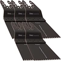 Krop Tools 5 DeWalt Multifonction Lame de Scie Black & Decker à Bois Précision DE 65mm à Retrait Rapide Stanely FatMax Worx Sonicrafter Hyperlock par KROP