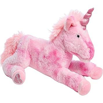 GirlZone Regalos para Niñas | Unicornios para Niñas | Peluche Unicornio Rosa, 40cm | Suave y Delicado Unicornio Peluche | Regalos Originales Niñas 3 a ...