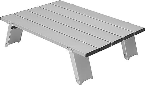 GRAND CANYON Mesa Micro de aluminio, pequeña mesa plegable para ...