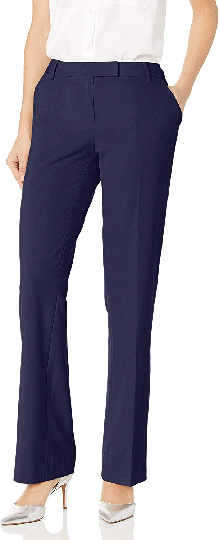 Calvin Klein Women's Slim Fit Dress Pant (Standard and Plus)