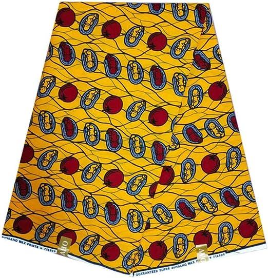 Coner Tela de Cera Africana de algodón Tejidos de Cera nigeriana ...