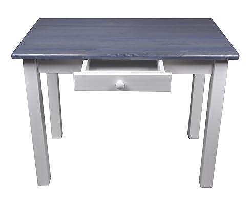 Esstisch Mit Schublade Küchentisch Tisch Massiv Kiefer 80 X 60 Cm