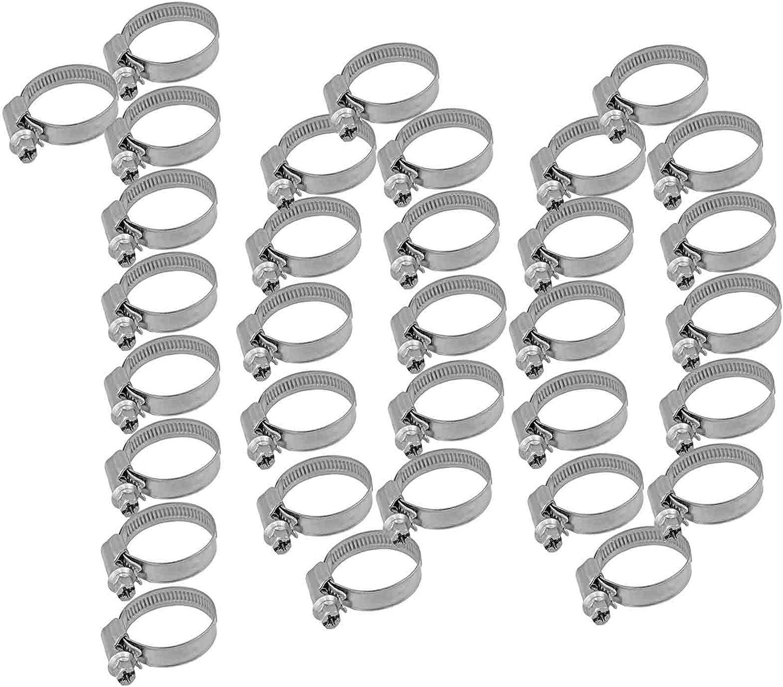 Spannbereich 16-50 mm Qualit/äts Schlauchschellen Set aus Edelstahl W5 V4A Bandbreite 9mm WUNSCHGR/ÖSSE MENGENRABATT einfach ausw/ählen  1 Schlauchschelle 16-27 mm 1//2 Zoll bis 3//4 Zoll