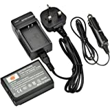 DSTE LP-E10 Replacement Battery + Charger DC117U for Canon EOS 1100D, EOS Rebel T3, EOS Kiss X50 Digital Cameras