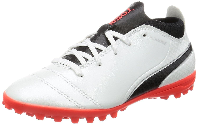 Puma Unisex-Kinder One 17.4 IT Jr Fußballschuhe, Schwarz (Black-Black-Silver), 29 EU