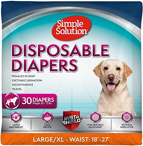 Simple-Solution-Einweg-Hundewindeln
