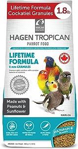 Hari Tropican Bird Food, Hagen Parrot Food with Peanuts & Sunflower Seeds