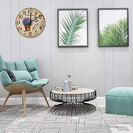 Surprising Amazon Com Yololis Vintage Style Round Wall Clock Wall Home Interior And Landscaping Elinuenasavecom