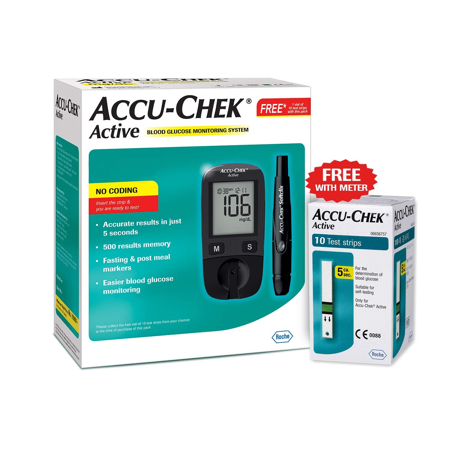accuchecks for diet controlled diabetes