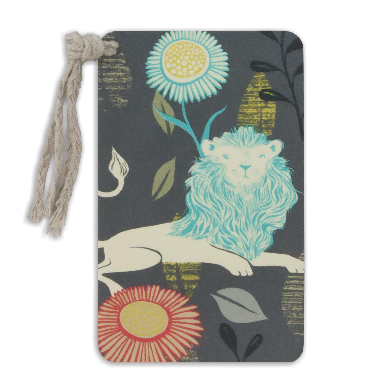 Capri Designs- Metal marcadores, diseño de flores (diseño de Sarah Sarah de vatios), color Lion c8ebf1