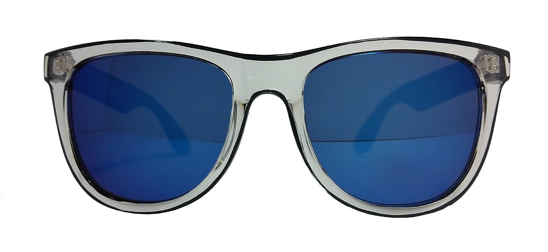 Blue Clear Smoky Grey Lens With Wayfarer Sunglasses Mirror Frame Bxx1qZwv