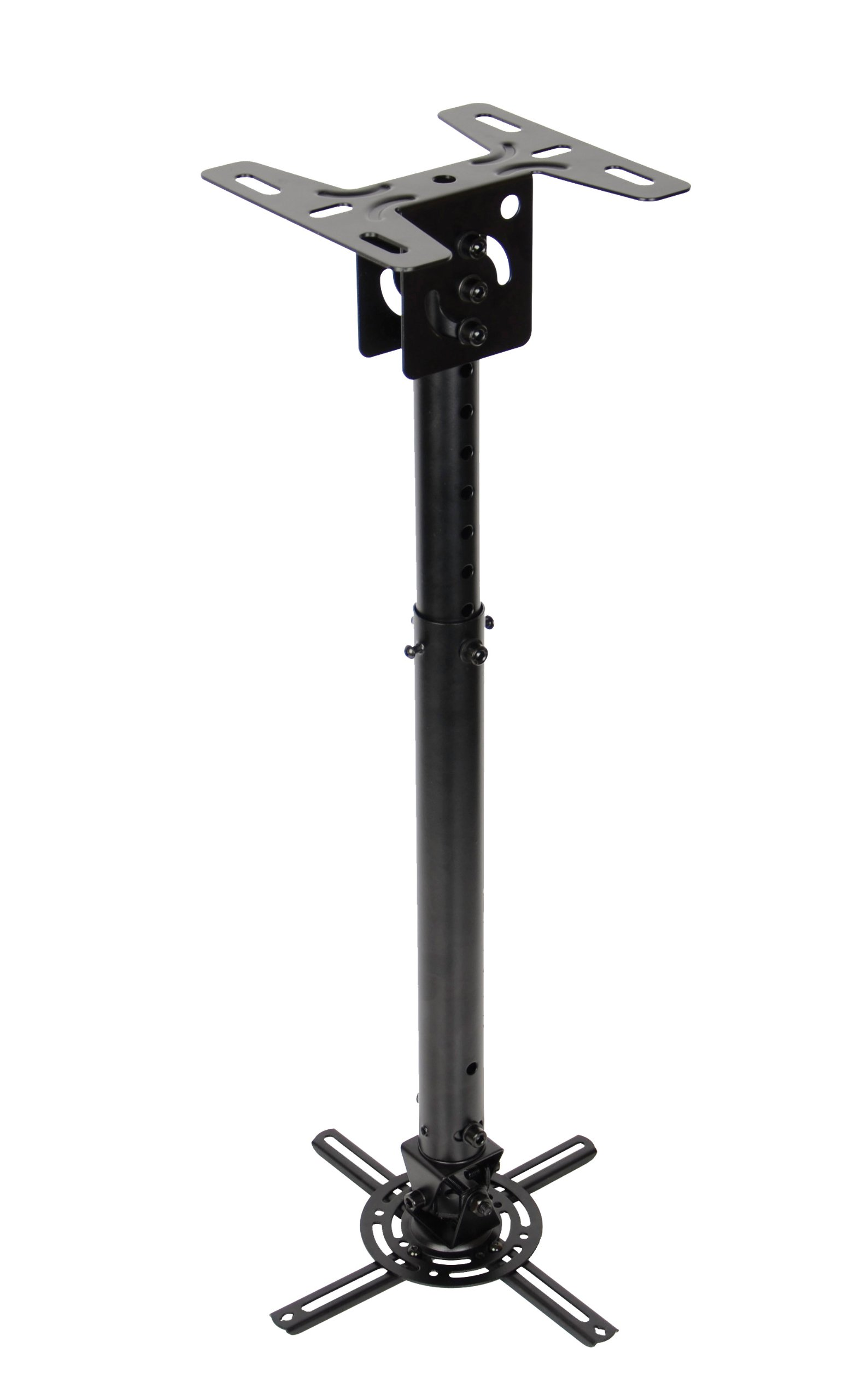 OPTOMA Technology OCM815B Low Profile Universal Ceiling Mount with Extension Poles Projector Accessory by Optoma