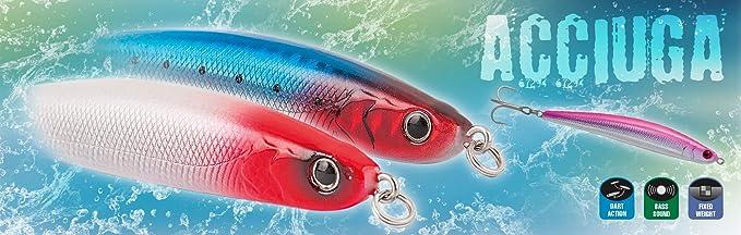 Rapture - ACCIUGA - Señuelo Pesca - Spinning - paseante hundido ...