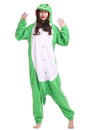 Unisex Kigurumi Jumpsuit Tier Pyjamas Kostum Fasching Onesie Damen