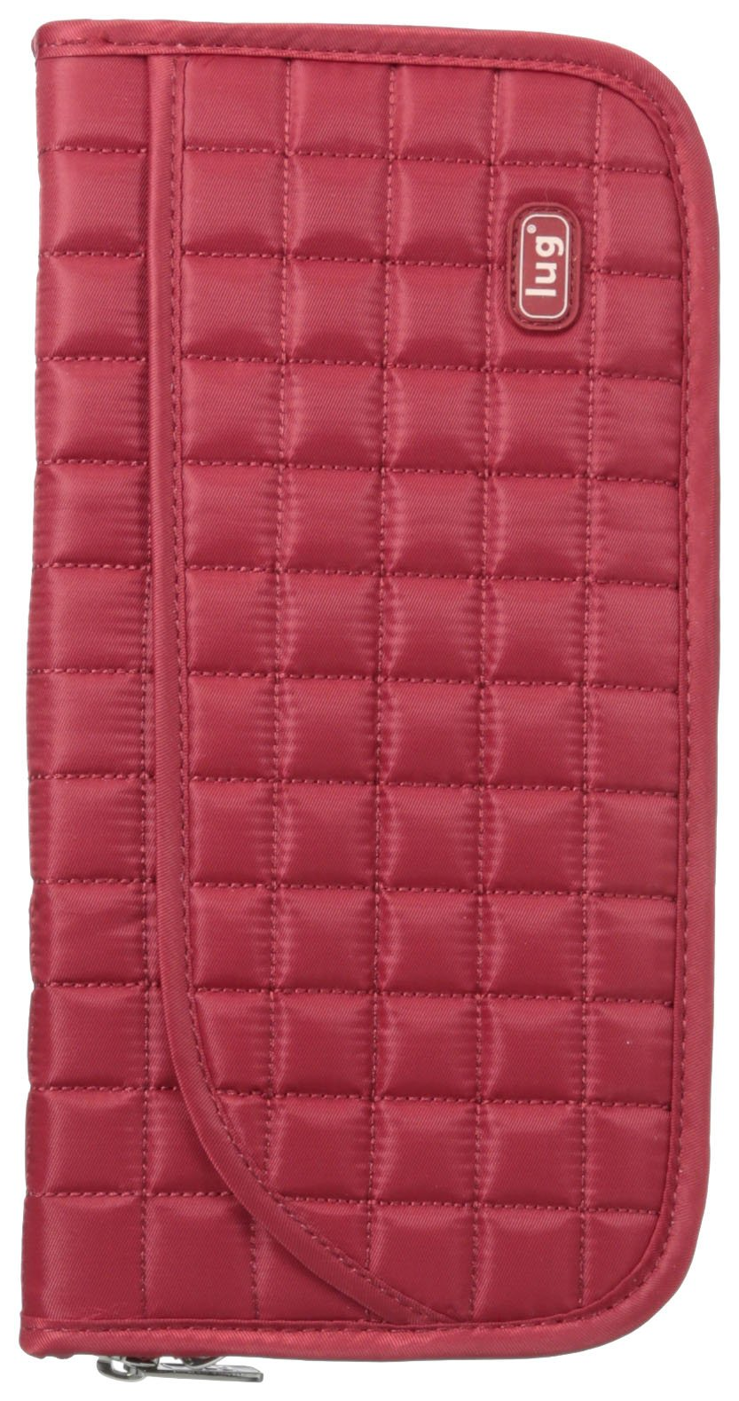 Lug Tango Travel Wallet, Crimson Red