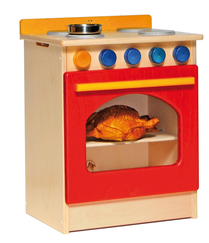 Raffetto 250 41 x 31 x 50 cm Spielzeug Rot Küche Herd Modell Spielzeug cm 548569
