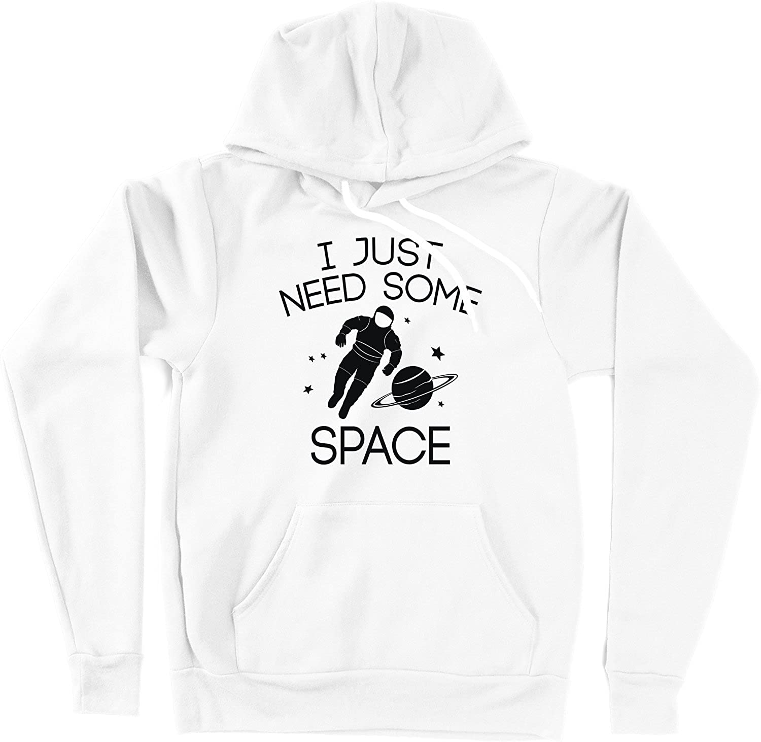 White VectorPlanet I Just Need Some Space Unisex Hoodie
