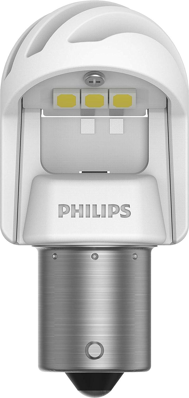 W21W White Bianco Set di 2 Philips automotive lighting 11065XUWX2 LED Lampadina di Segnalazione per Auto