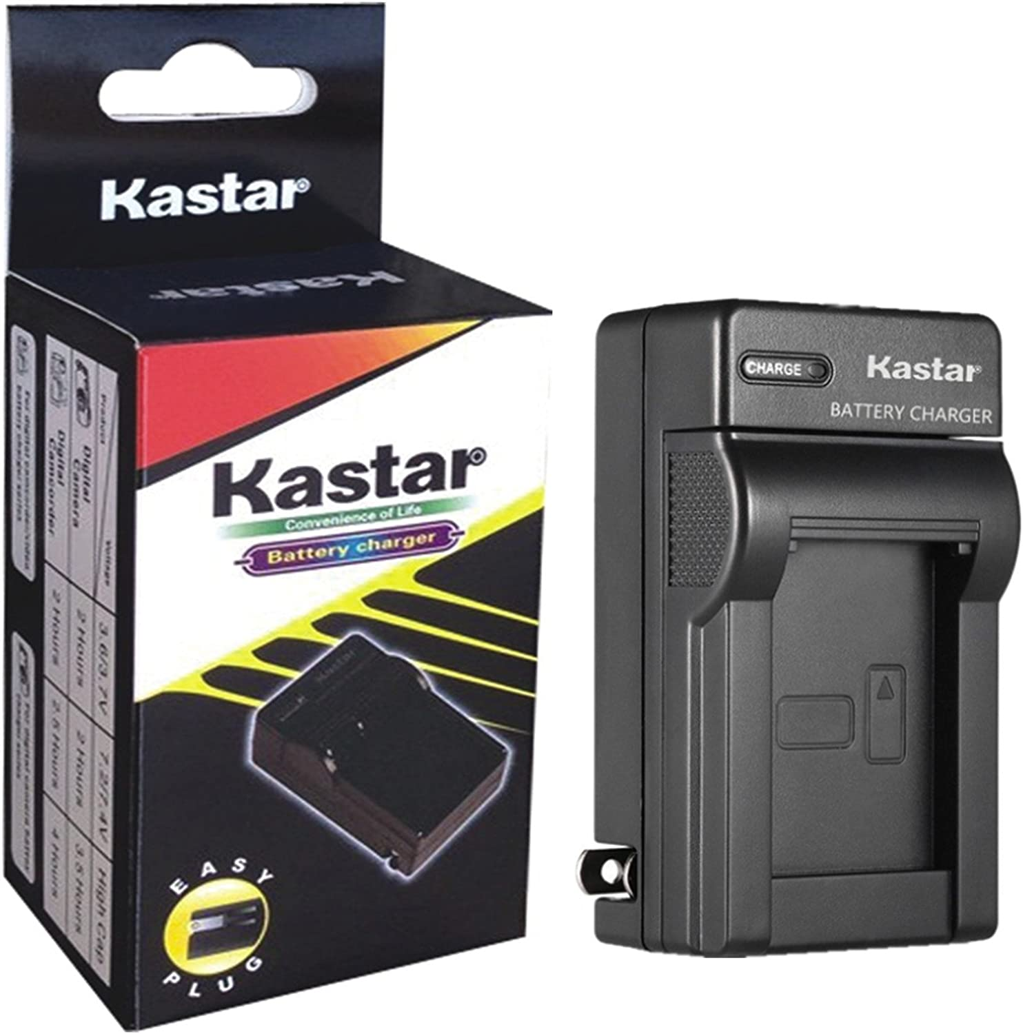 Kastar Charger forSony NP-FS11 NP-FS10 FS21 FS31 and CCD-CR1 CCD-CR5 DCR-PC1 DCR-PC2 DCR-PC3 DCR-PC4 DCR-PC5 DCR-TRV1VE Cyber-Shot DSC-F505 DSC-F505V DSC-F55 DSC-F55V DSC-P1 DSC-P20 DSC-P30 DSC-P50