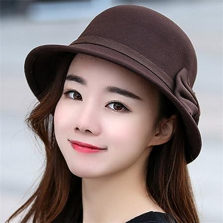 ccb8fbfe5 Girlfriend boyfriend Holiday gifts A woman's hat Fedora Hat autumn ...