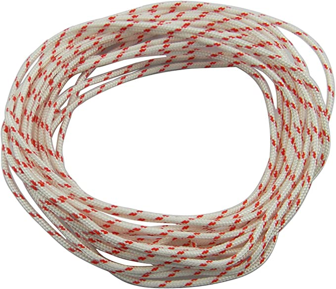 5mm Lawnmower Strimmer Chainsaw Recoil Starter Pull Cord  Rope