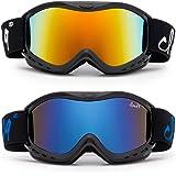 "Cloud 9 - Kids Boys & Girls Snow Goggles ""Tailgrab"" Anti-Fog UV400 Snowboarding Ski POPULAR COLORS TO CHOOSE! (1 Pair)"