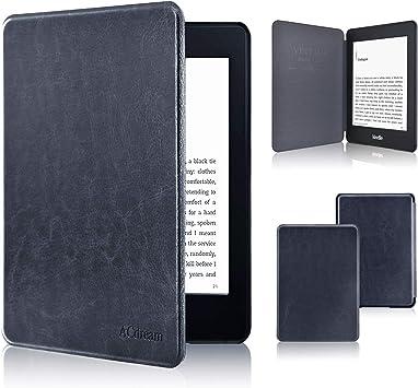 ACcolor - Funda para Kindle Paperwhite 2018, la más Delgada y Ligera de Piel, Compatible con Kindle Paperwhite de 10ª generación: Amazon.es: Electrónica
