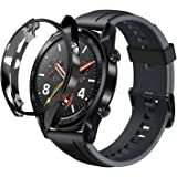 Miitech Huawei Watch GT classic/sport ケース 保護カバー TPUケース PC素材 軽量超簿 耐衝撃性 脱着簡単(ブラック)