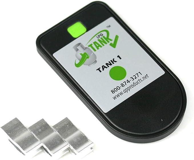 Indicador del contenido de los cilindros de gas por MOPEKA Bluetooth - Indicador de nivel - Comprobación del control del nivel de gas - Medidor de gas ...