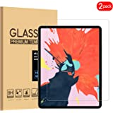 [2-Pack] PULEN iPad Pro 11'' Screen Protector 2018,HD Clear Anti-Scratch No Bubble Anti-Fingerprints Highly Responsive 9H Tempered Glass Film for Apple iPad Pro Tablet 2018d (11 Inch)