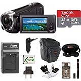 Sony grabación de vídeo HD HDRCX405 HDR - cx405/B videocámara (Negro) + Sony 32 GB microSDHC/SDXC tarjeta de memoria de alta velocidad + Bolsa para cámara + de repuesto NP-BX1 batería y Cargador + Set de accesorios