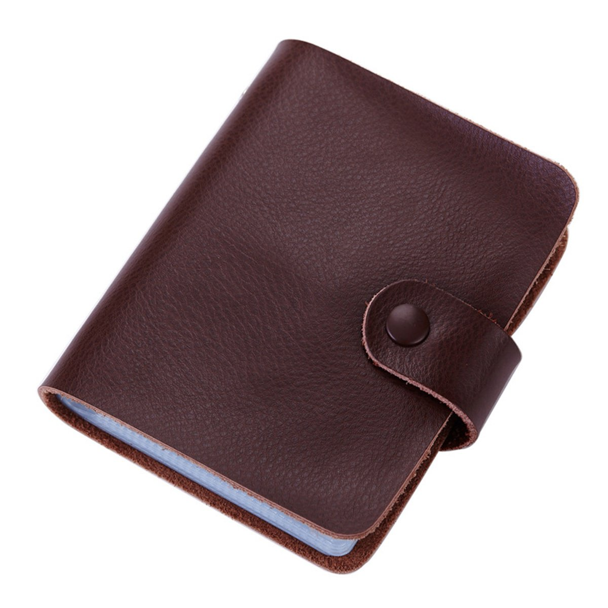 Aladin Leather Business Card Organizer Book Credit Card Holder with ...