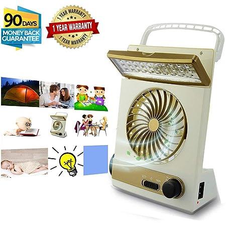 KASQA Portable Solar Fan